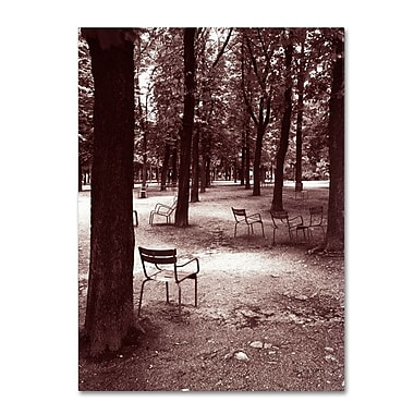 Trademark Fine Art 'Jardin du Luxembourg Chairs' 24