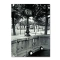 Trademark Fine Art 'Le Metro' 14in. x 19in. Canvas Art
