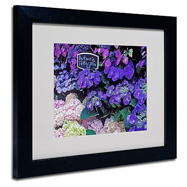 Trademark Fine Art 'Paris Flower Market Hydrangeas'