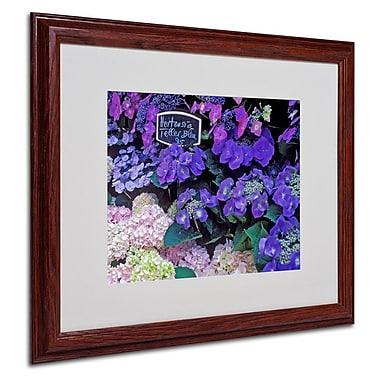 Trademark Fine Art 'Paris Flower Market Hydrangeas' 16