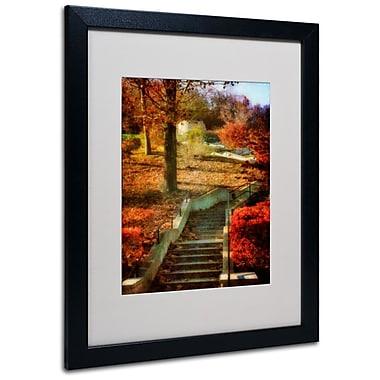 Trademark Fine Art 'Autumn Stairway' 16
