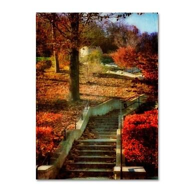 Trademark Fine Art 'Autumn Stairway' 14