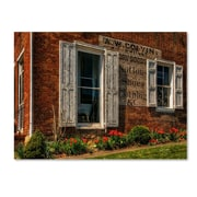 "Trademark Fine Art 'Country Store' 14"" x 19"" Canvas Art"