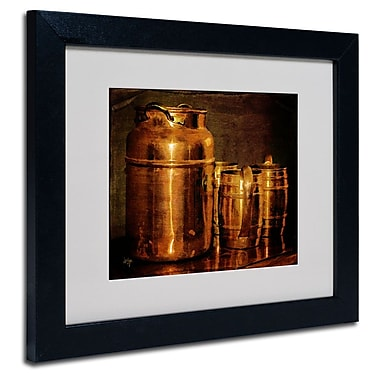 Trademark Fine Art 'Copper Jugs' 11