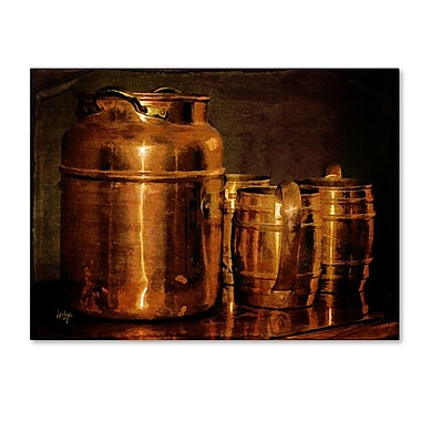Trademark Fine Art 'Copper Jugs' 30