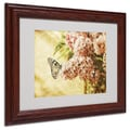 Trademark Fine Art 'Sweet Lilacs' 11in. x 14in. Wood Frame Art