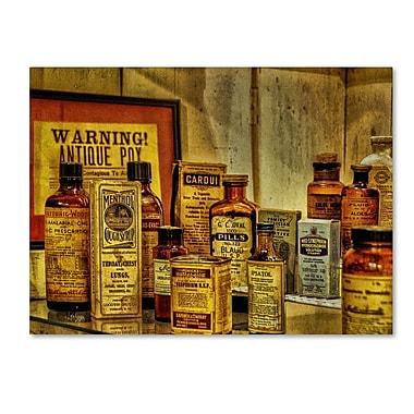 Trademark Fine Art 'Vintage Medicines' 35