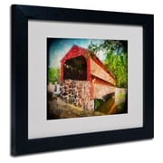 Trademark Fine Art 'Old Covered Bridge'