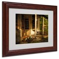 Trademark Fine Art 'The Old General Store' 11in. x 14in. Wood Frame Art