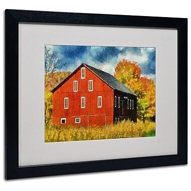 Trademark Fine Art 'Red Barn In Autumn' 16