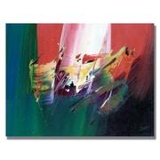 "Trademark Fine Art 'Onward I' 35"" x 47"" Canvas Art"