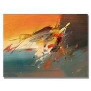 "Trademark Fine Art 'Onward II' 18"" x 24"" Canvas Art"