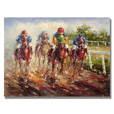 Trademark Fine Art 'Kentucky Derby' 35
