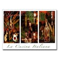 Trademark Fine Art 'La Cucina Italiana' 14in. x 19in. Canvas Art