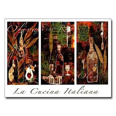 Trademark Fine Art 'La Cucina Italiana'