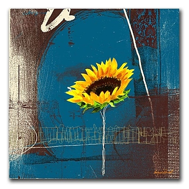 Trademark Fine Art 'Sunflower' 35in. x 35in. Canvas Art