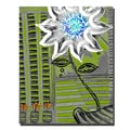 Trademark Fine Art 'White Flower' 16in. x 20in. Canvas Art