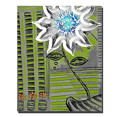 Trademark Fine Art 'White Flower' 16