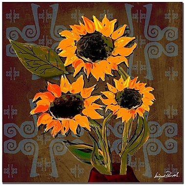 Trademark Fine Art 'Sunflowers I' 35