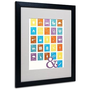 Trademark Fine Art 'Alpha Bits Blocks' 16