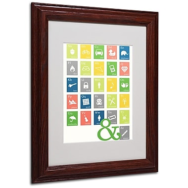 Trademark Fine Art 'Alpha Bits Spring' 11