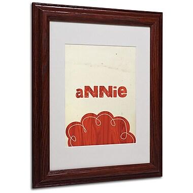 Trademark Fine Art 'Annie' 11