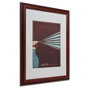 "Trademark Fine Art 'My Big Fat Greek Wedding' 16"" x 20"" Wood Frame Art"