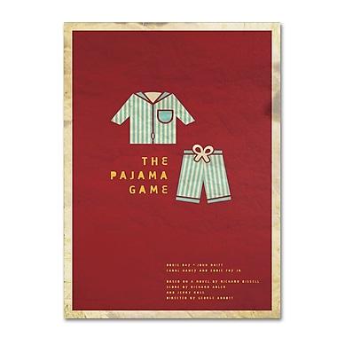 Trademark Fine Art 'The Pajama Game' 14