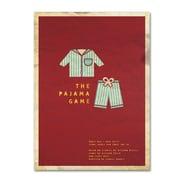 "Trademark Fine Art 'The Pajama Game' 30"" x 47"" Canvas Art"