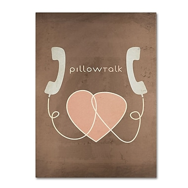 Trademark Fine Art 'Pillow Talk' 22