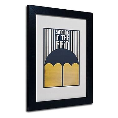 Trademark Fine Art 'Singing in the Rain'