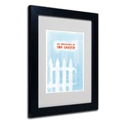 "Trademark Fine Art 'Tom Sawyer' 11"" x 14"" Black Frame Art"