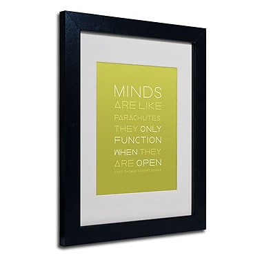 Trademark Fine Art 'An Open Mind'