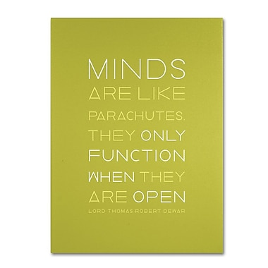 Trademark Fine Art 'An Open Mind I' 26in. x 32in. Canvas Art