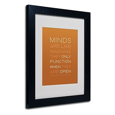Trademark Fine Art 'An Open Mind II'
