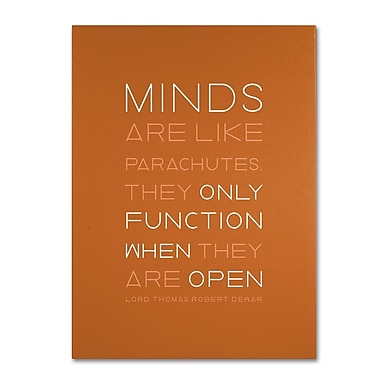 Trademark Fine Art 'An Open Mind II' 35in. x 47in. Canvas Art