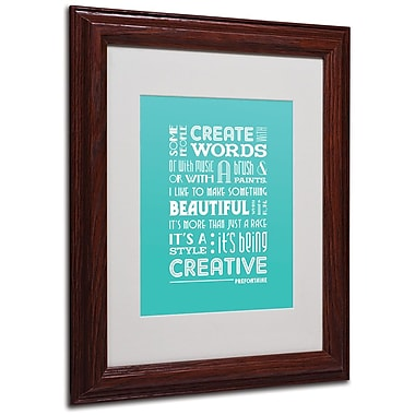 Trademark Fine Art 'Creative Running I' 11