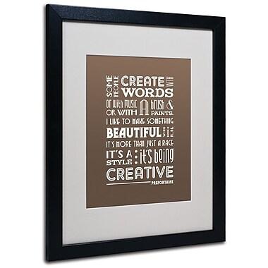 Trademark Fine Art 'Creative Running II' 16