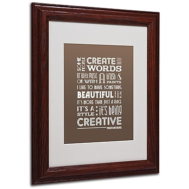 Trademark Fine Art 'Creative Running II' 11