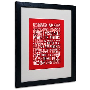 Trademark Fine Art 'Decisive Elements' 16