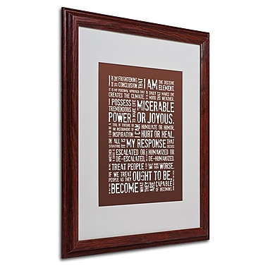 Trademark Fine Art 'Decisive Elements III' 16