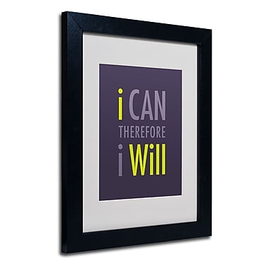 Trademark Fine Art 'I Will I'