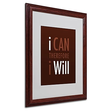 Trademark Fine Art 'I Will II' 16