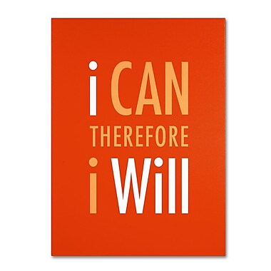 Trademark Fine Art 'I Will III' 14
