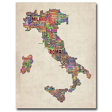 Trademark Fine Art 'Italy II' 24