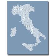 Trademark Fine Art 'Italy in Blue'