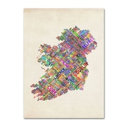 "Trademark Fine Art 'Ireland II' 30"" x 47"" Canvas Art"