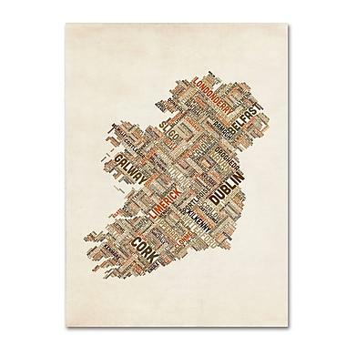 Trademark Fine Art 'Ireland III' 30