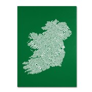"Trademark Fine Art 'Ireland IX' 16"" x 24"" Canvas Art"