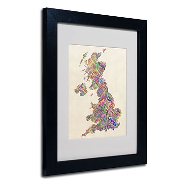 Trademark Fine Art 'United Kingdom I'